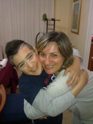 Katia Tacco e suo figlio Lorenzo