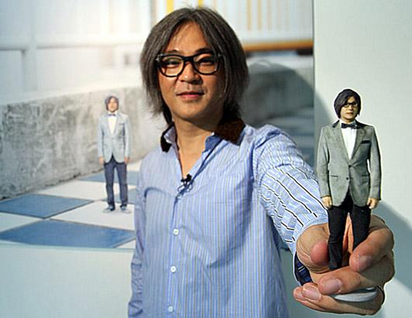Miniatura personalizzata stampata in 3D
