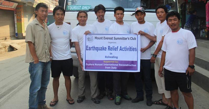 Terremoto in Himalaya - Una Luce per la Rolwaling