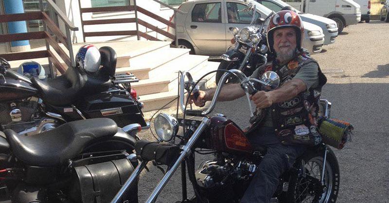 Domenico D'Ercole motociclista