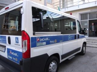 Mezzo di trasporto per disabili