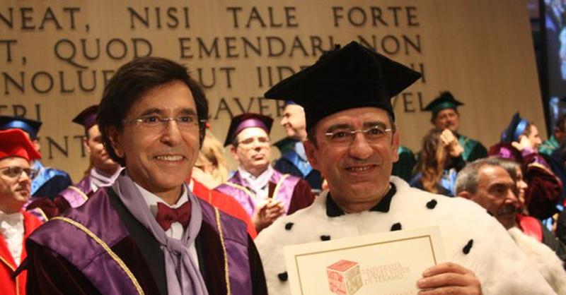 Elio Di Rupo all'università di Teramo