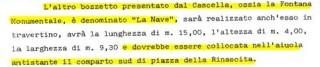 La delibera di Giunta datata 30.11.1984