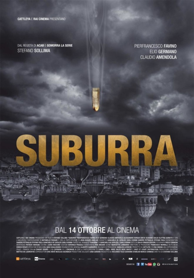 la locandina di Suburra