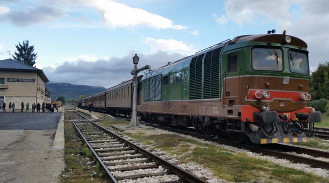 Transiberiana D'Italia Stazione di Castel Di sangro