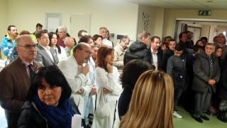 Cerimonia di inaugurazione del day hospital