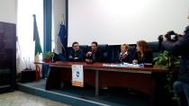 Il tavolo con i relatori