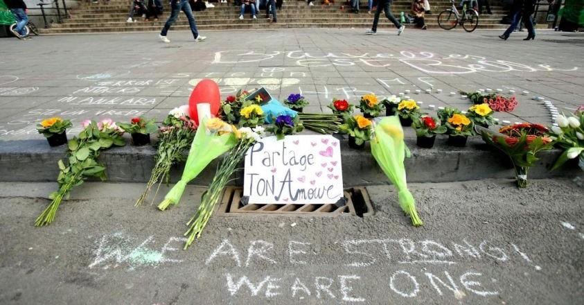 Commemorazione strage Bruxelles