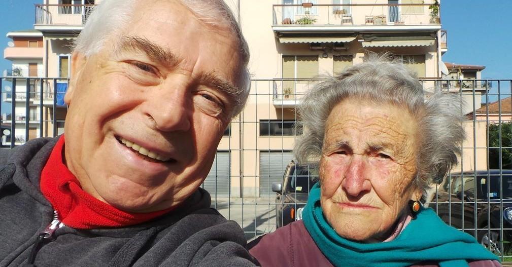 Domenico Logozzo e nonna Cesira