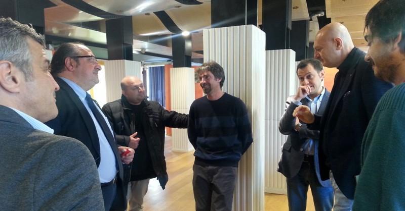 Referendum. Gli esponenti Sel-Sinistra Italiana. Foto Doriana Roio