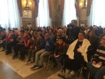 Il pubblico durante la manifestazione