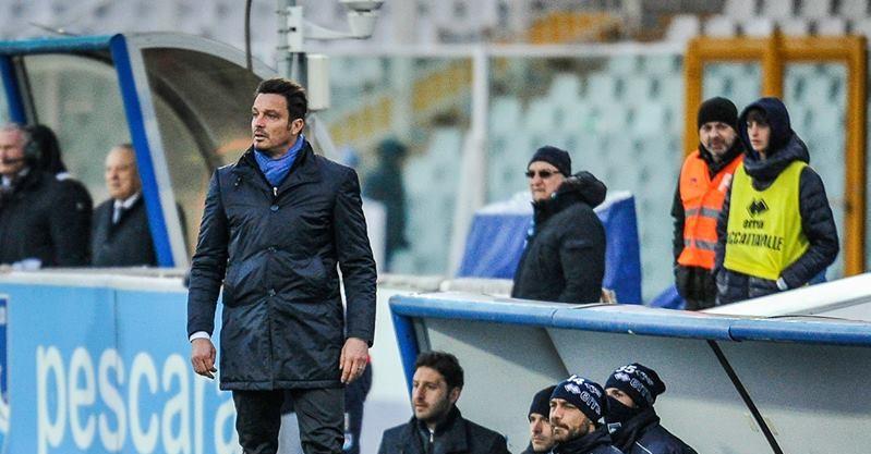 Massimo Oddo, durante la partita con il Livorno