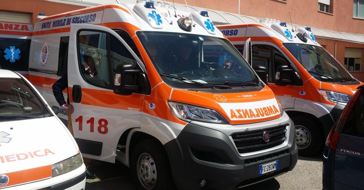 Nuove ambulanze Asl Chieti
