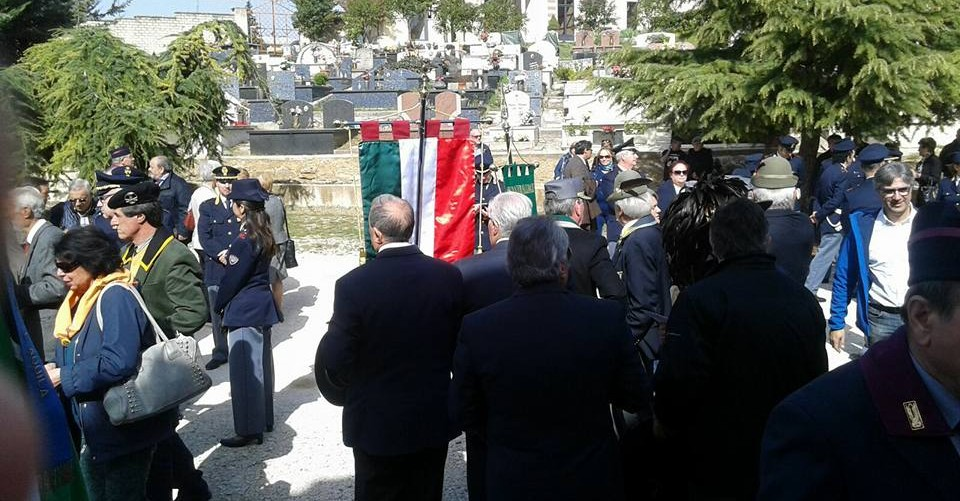 Cerimonia di commemorazione