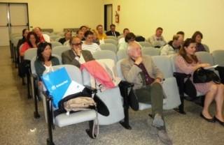 Giornalisti russi all'aeroporto d'Abruzzo