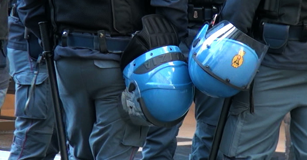 Polizia stadio ordine pubblico