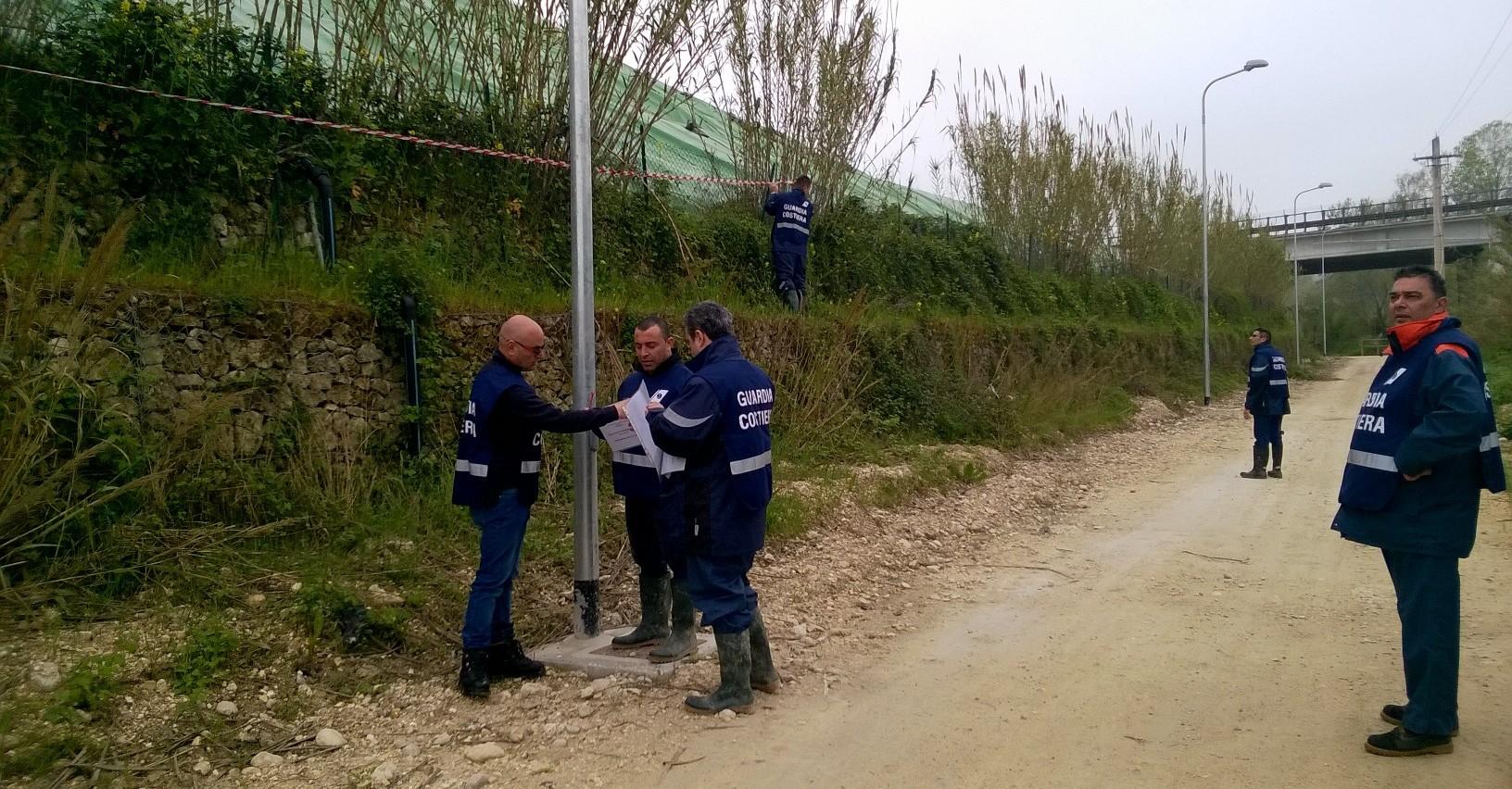 Sequestro della discarica di Villa Carmine