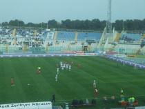 Una fase di gioco della partita Pescara - Como