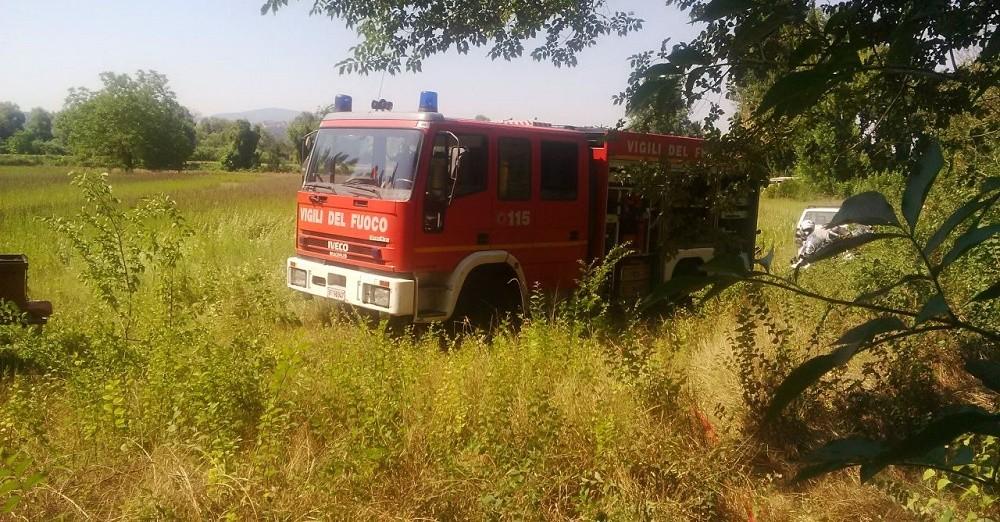 Vigili del fuoco, intervento