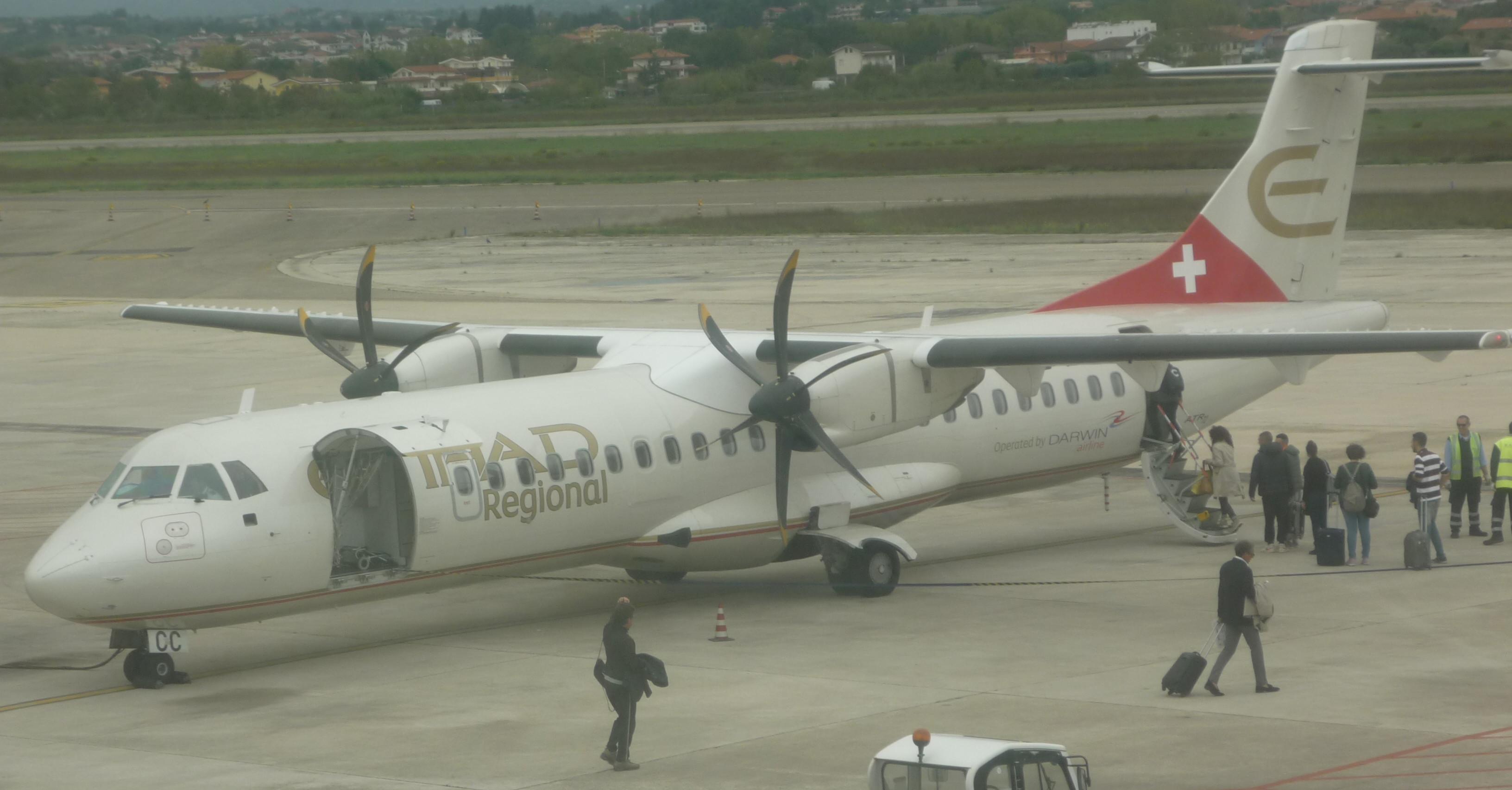 Volo Pescara-Roma