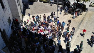 Ambulanti senegalesi al Comune di Pescara