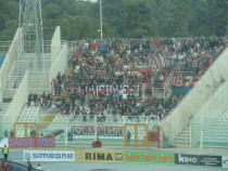 I tifosi rossoneri, a Pescara
