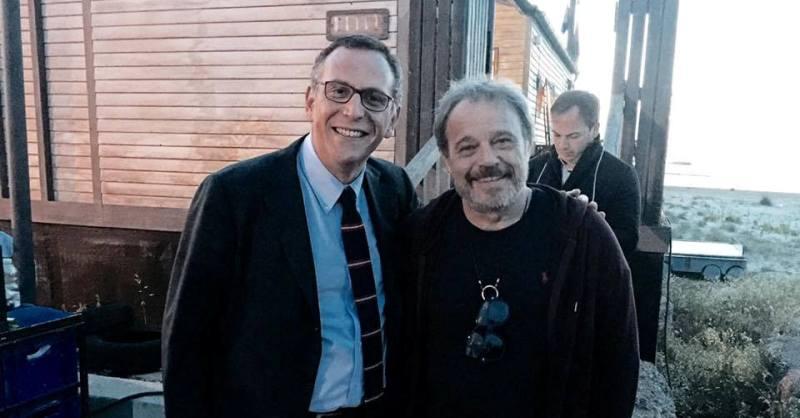 Il Sindaco Alessandrini e Claudio Amendola