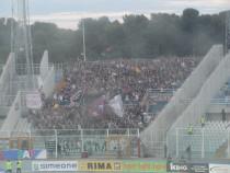 I tifosi del Trapani, giunti a Pescara