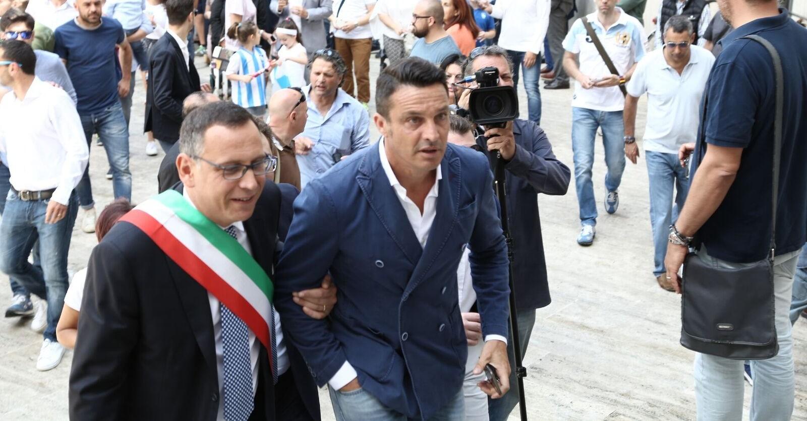 Il Pescara incontra il Comune