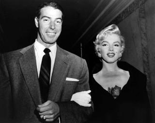 Joe Di Maggio e Marilyn Monroe