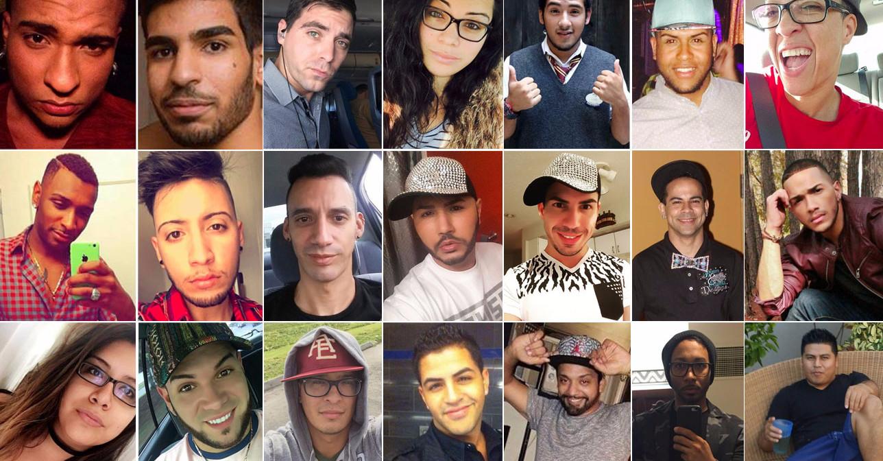 Le vittime di Orlando in Florida