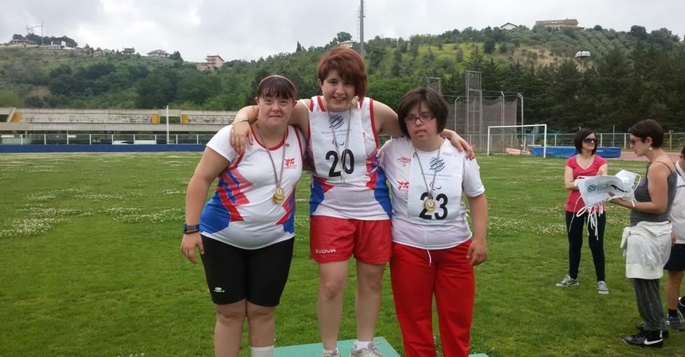 Premiazione Atletica L'Aquila