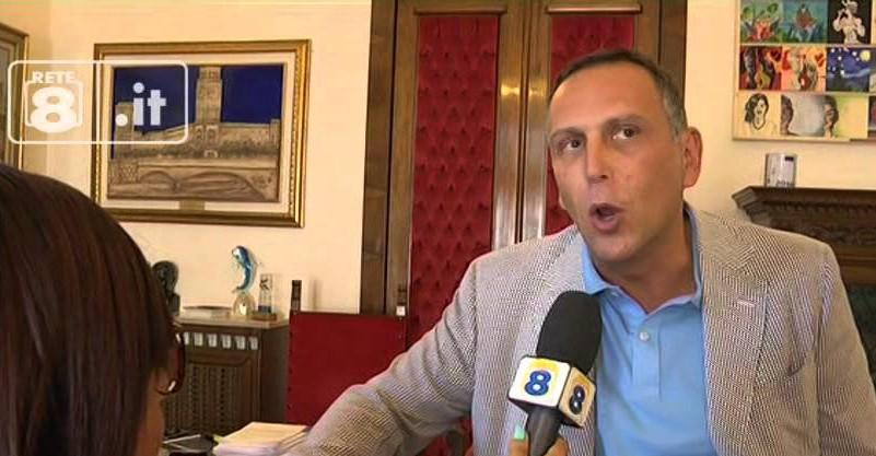 Alessandrini intervistato da Rete 8