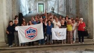 Fap-Acli di Pescara alla Reggia di Caserta