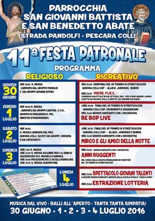 Festa Parrocchia San Giovanni Battista e San Bendetto Abate
