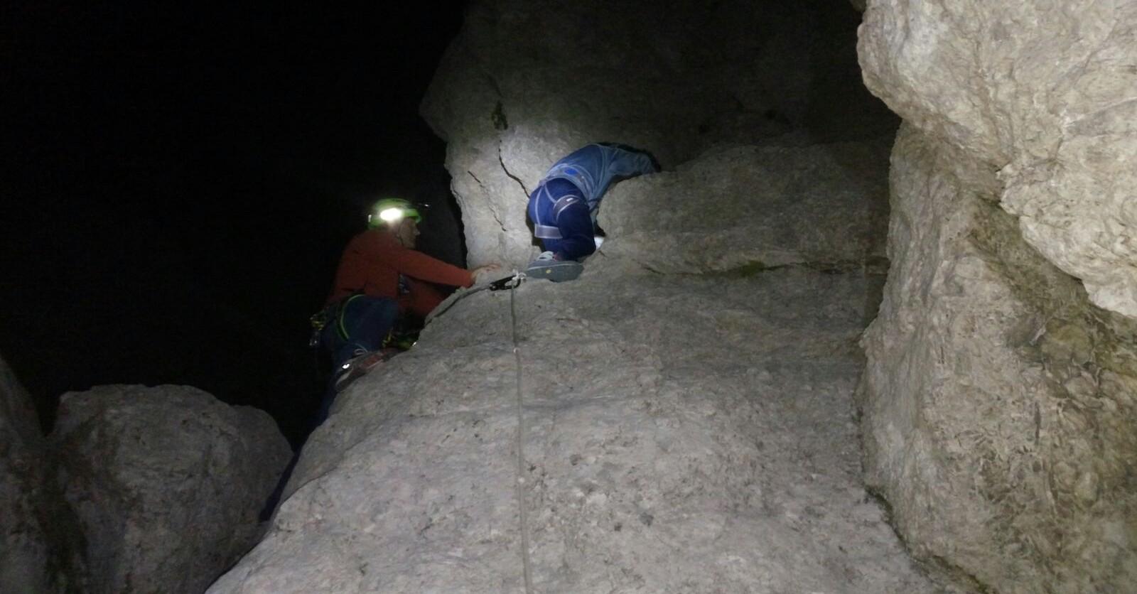 Escursionisti recuperati