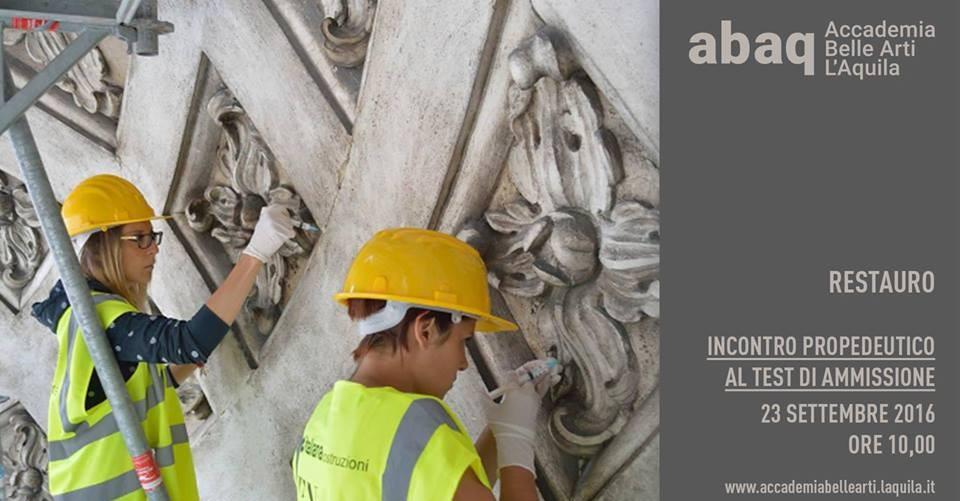 scuola-di-restauro-della'Aquila