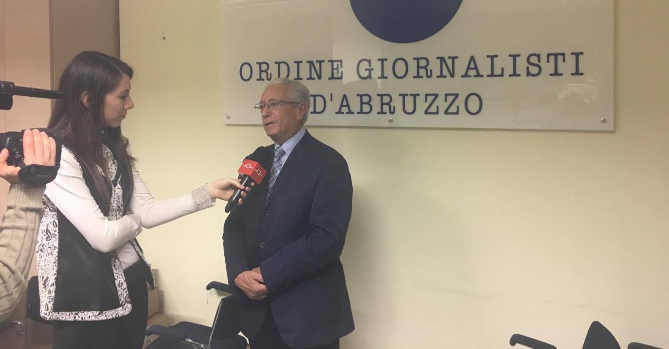 il presidente della Commissione Walter Capezzali