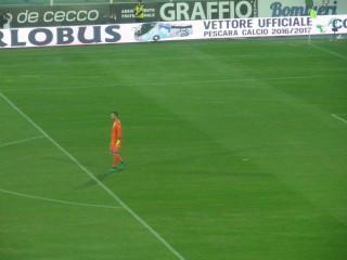 Viviano, protagonista del match di marca sampdoriano