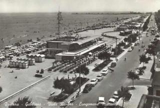 Pescara lungomare Matteotti anni 60