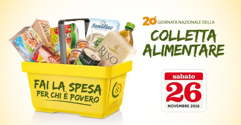 Colletta Alimentare, il 26 novembre Giornata Nazionale