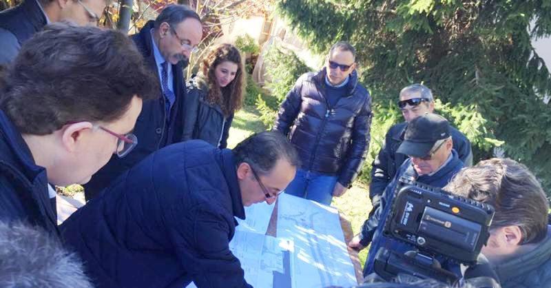 Riqualificazione cittadina, interventi in via Monte di Campli