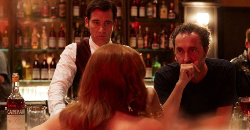 Campari, nuova campagna di Paolo Sorrentino con Clive Owen