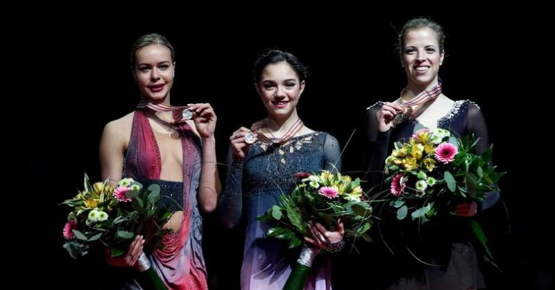 Europei di pattinaggio 2017, bronzo a Carolina Kostner