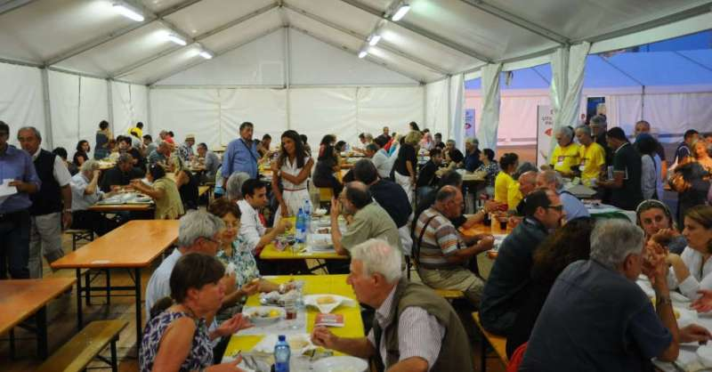 Festival dell'Amatriciana, raccolti 60mila euro