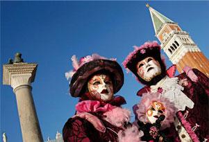 Carnevale di Venezia, maschere tipiche