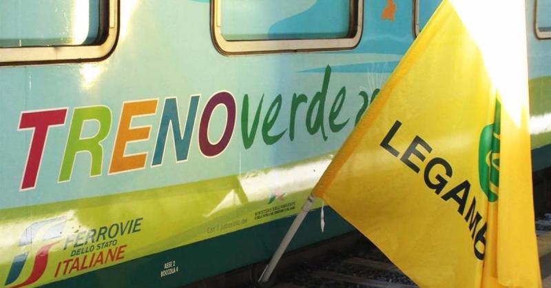 Treno Verde di Legambiente. L'Italia in 11 tappe