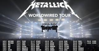 Metallica in Italia con il Worldwired tour