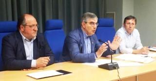 ll Sottosegretario Mazzocca, il Governatore D'Alfonso e il Direttore Ufficio Ricostruzione D'Alberto su edilizia scolastica post sisma