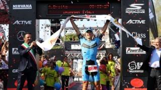 Il vincitore di Ironman a Cervia